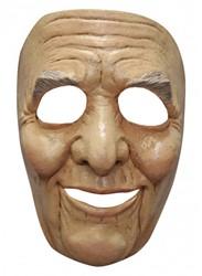 Gezichtsmasker Oude Man - Abraham (Latex)