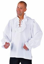Hemd Piraat Luxe Wit