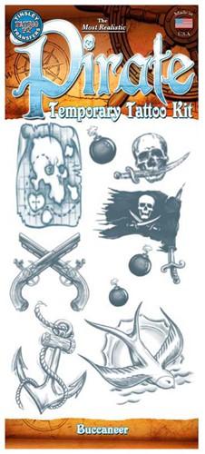 Piraten Tattoos Buccaneer