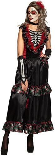 Halloween Jurk La Muerte - Day of the Dead