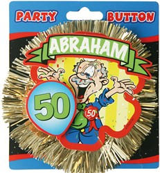 3D Button Abraham 50