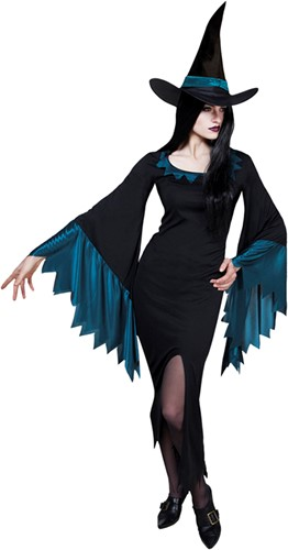 Heksenjurk Scary Witch voor dames