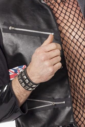 Punk armband dubbel