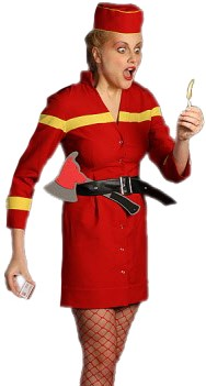 Brandweer Lady
