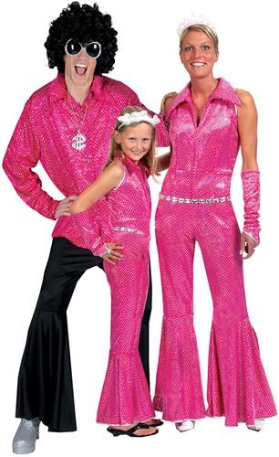 Disco Jumpsuit Pink-2