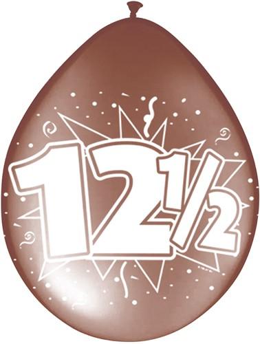 Ballonnen 12,5 jaar 8st
