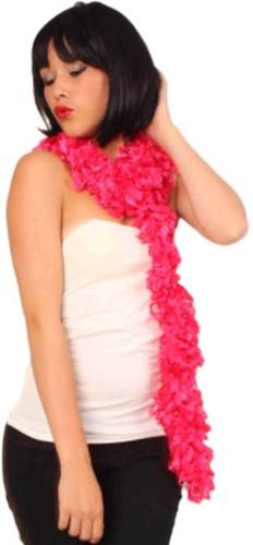 Boa Sjaal Fluor Pink 165cm