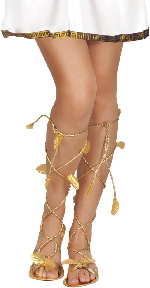 officiële winkel bespaar tot 80% verkoop usa online Griekse Sandalen Goud voor dames
