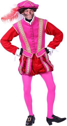 Pietenpak Amsterdam Fluweel Roze-Rood