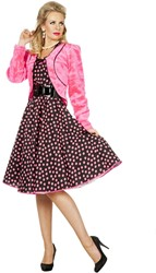 Bolero Pluche Pink