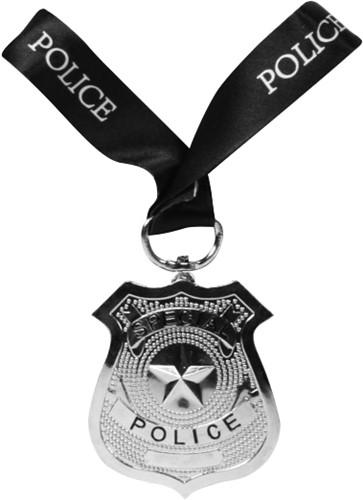 Politie Badge met Keycord