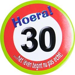Button Hoera 30!