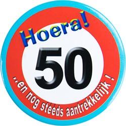 Button Hoera 50!