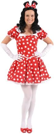 Dameskostuum Sexy Minnie Mouse