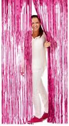 Deurgordijn Folie 2x1mtr Pink