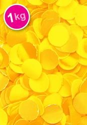 Confetti 1 Kilo Brandveilig Geel