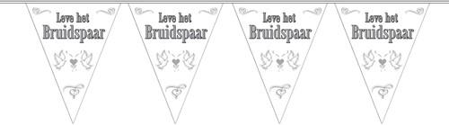 Vlaggenlijn Bruidspaar 10mtr