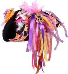 Carnavalshoed Driesteek Pink Luxe