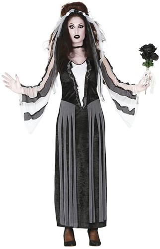 Halloween Jurk Black Rose voor dames
