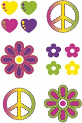 Hippy Flower Power Tattoos