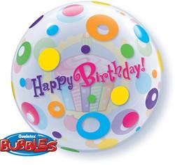 Bubble Happy B-day Cupcakes