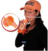 Fluittoeter Oranje