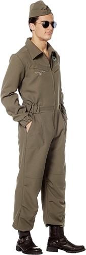 Herenkostuum Militair Piloten Overall