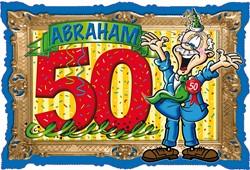Deurbord Abraham Stripes