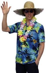 Hawaii Blouse Blauw