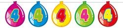 Ballonnen Vlaggenlijn 4 Jaar (10m)