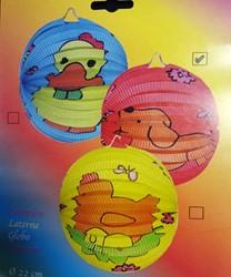 Ballonlampion Dieren 22cm