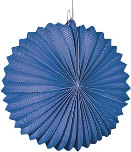 Lampion Bol Blauw 22cm