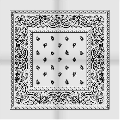 Zakdoek Wit (54x54cm)