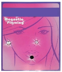 Magnetische Piercings Rond 3st.