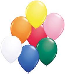 Ballonnen Multi 25 stuks 30cm