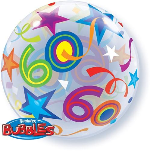 Bubble Ballon 60 Stars