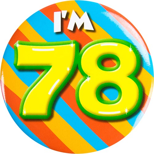Button 78 jaar