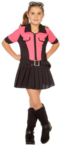 Politiejurkje Pink voor meisjes