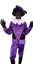 Zwarte Piet Kind Paars