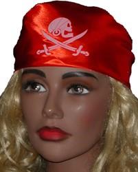 Piratenhoofddoek Kind Rood