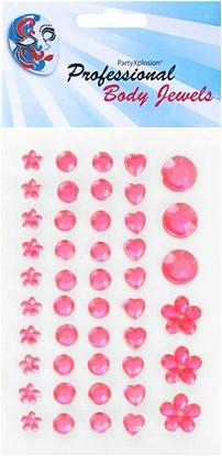 Body Jewel Pink Assorti 46st.