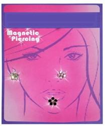 Magnetische Piercings Bloem 3st.