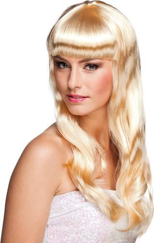 Pruik Party Chique Blond