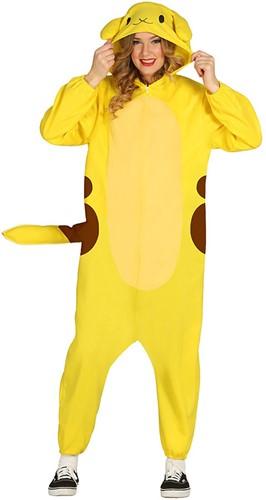 Kostuum Pikachu - Pokémon voor dames