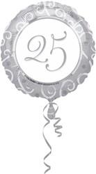 Folieballon Huwelijk 25 jaar