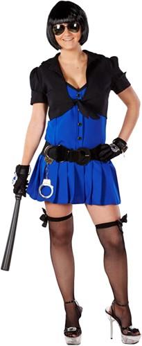 Dameskostuum Police Girl