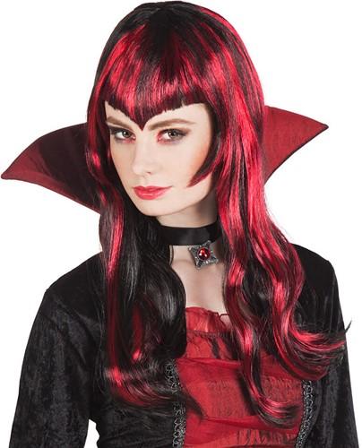 Pruik Vampire Streaks