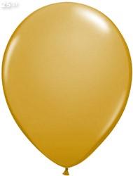 Ballonnen Metallic Goud 35cm - 25 stuks