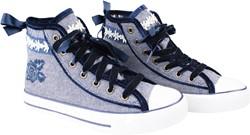 Dames Tiroler Trachten Sneaker Valentine Blauw