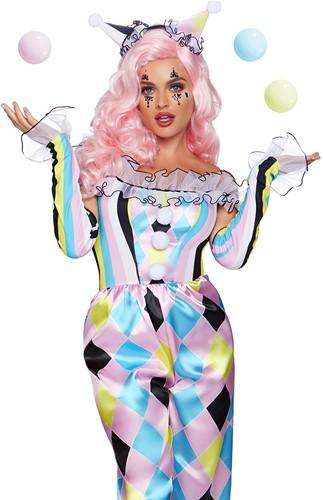 Dameskostuum Pretty Parisian Clown